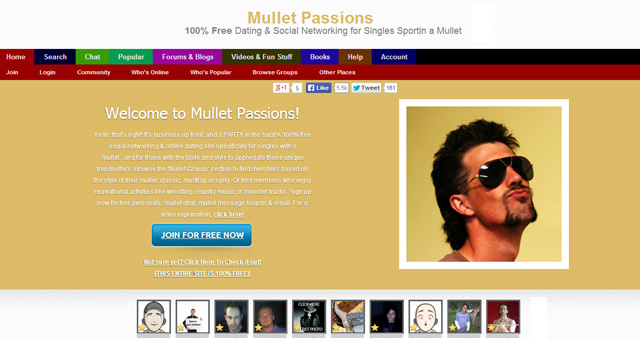 Mullet online dating
