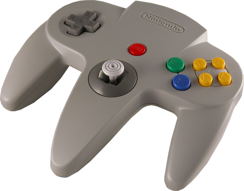 The first analog stick on a controller! Now it's part of everyday life, but then it was revolutionary!
