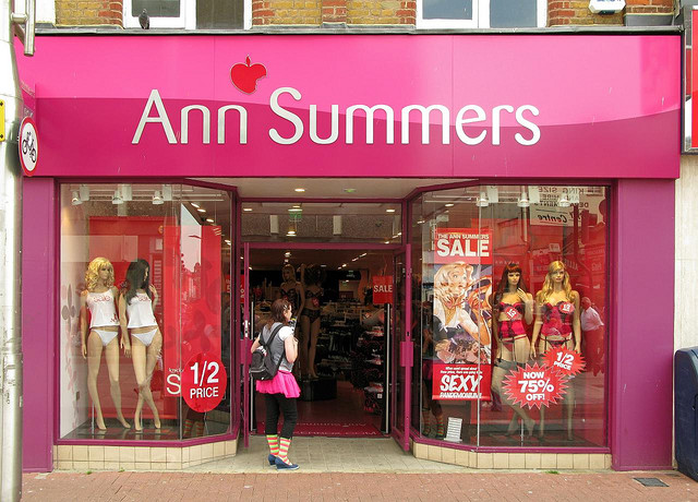 Ann Summers gets away with a lot while still respecting the laws!