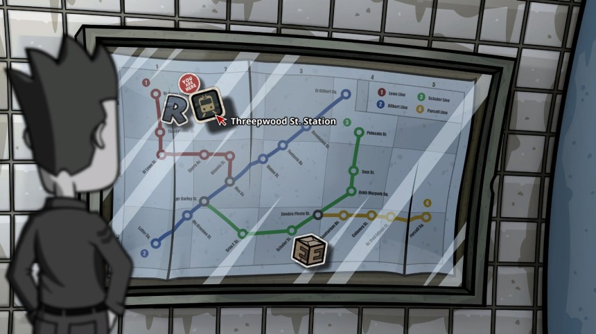 The subway map...too many references in one place!