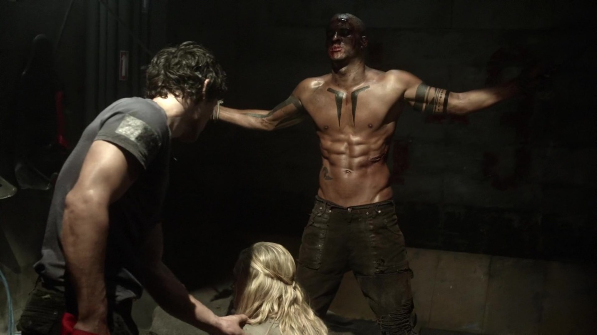The 100 goes dark very often, including violence, murder and torture!