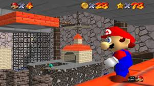 (Image Credit: Nintendo64Movies) My least favourite level in Super Mario 64