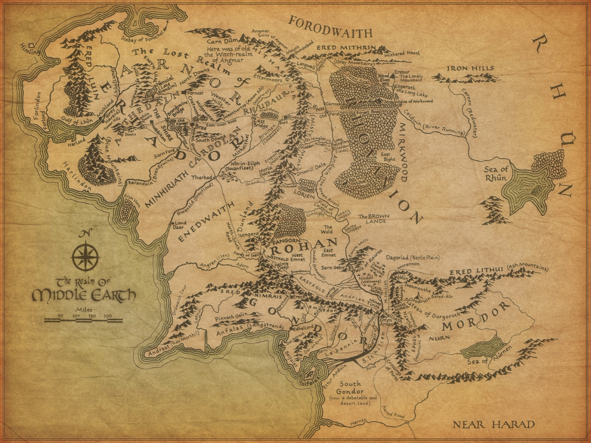 Where it all started!  (Image Credit: Lord of the Rings Wiki)