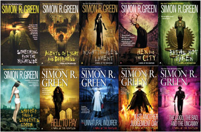 Simon R. Green's Urban Fantasy is vast and weird.