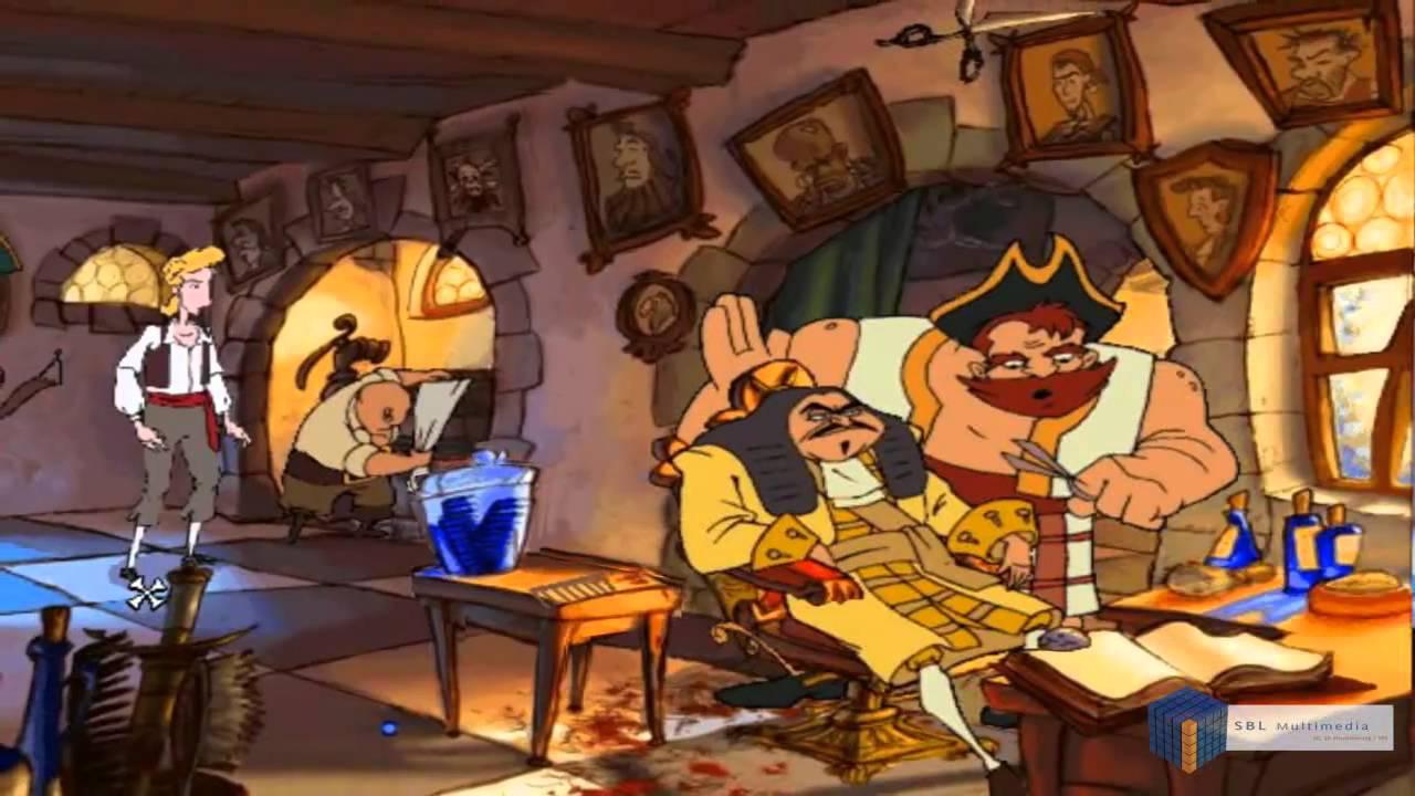 Curse Of Monkey Island Light Puzzle
