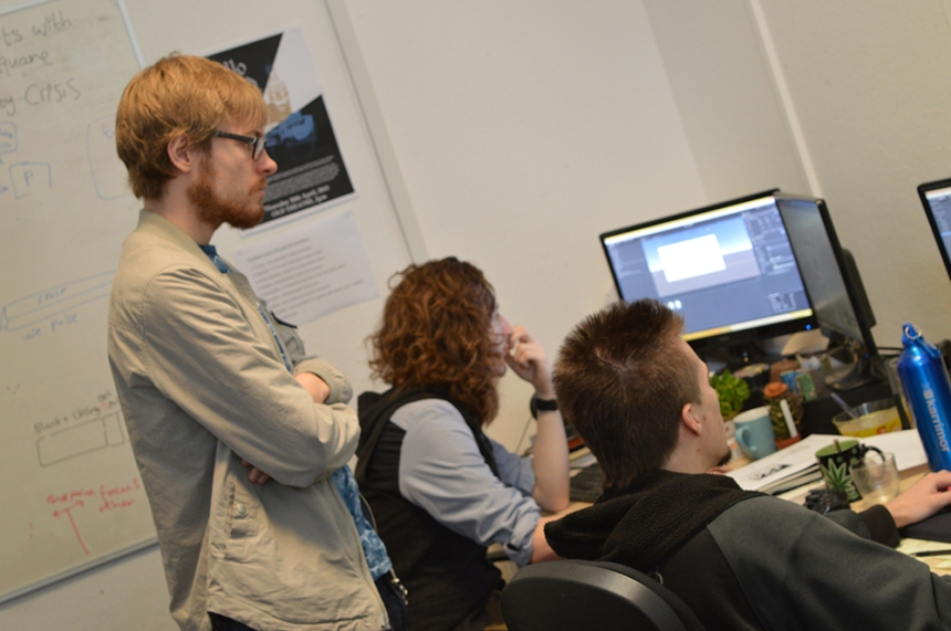Team It Starts With a Square - NFTS Games