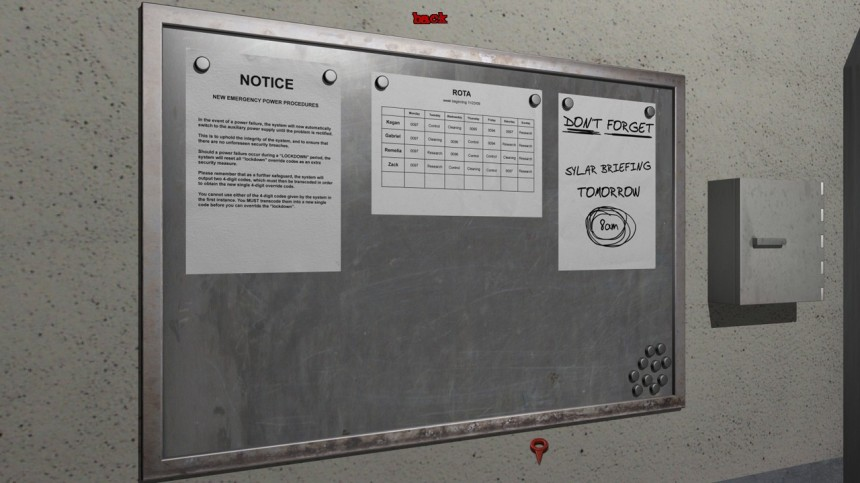 Notes and boards have important information you can miss if you rush!