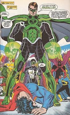 Hal Jordan - Parallax