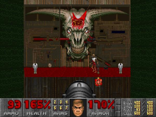 Doom 2 - Map 30 - Icon of Sin