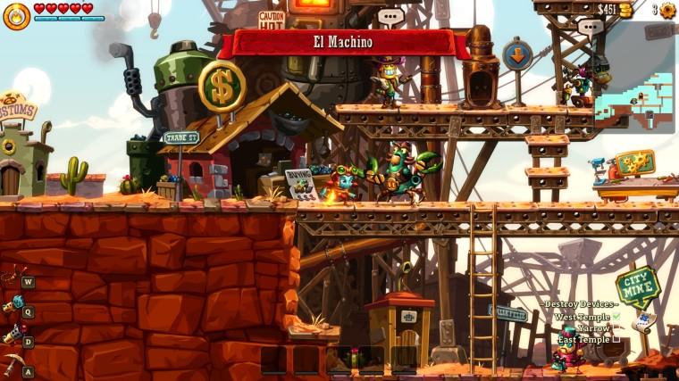 Steamworld Dig 2 - El Machino