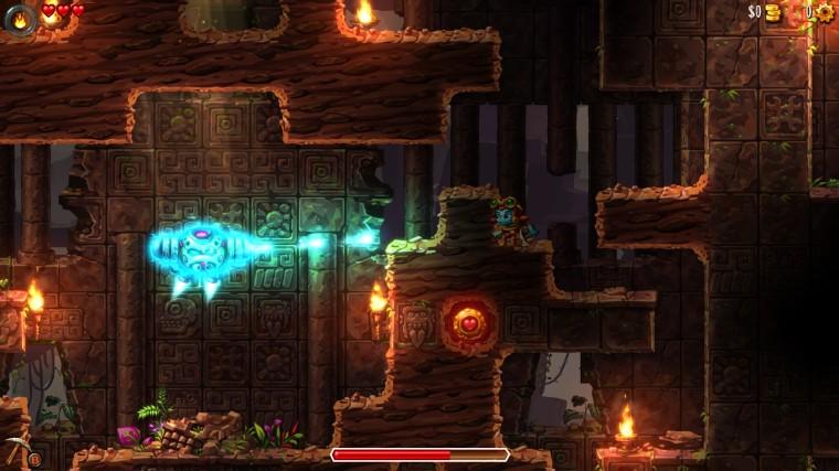 Steamworld Dig 2 - Boss