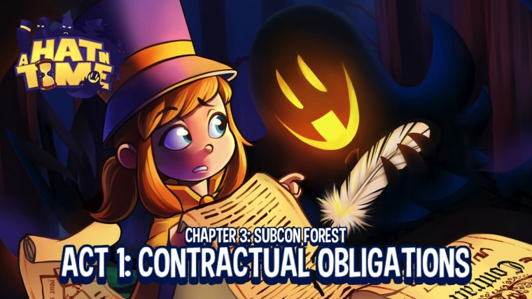 A Hat in Time - Contractual Obligations