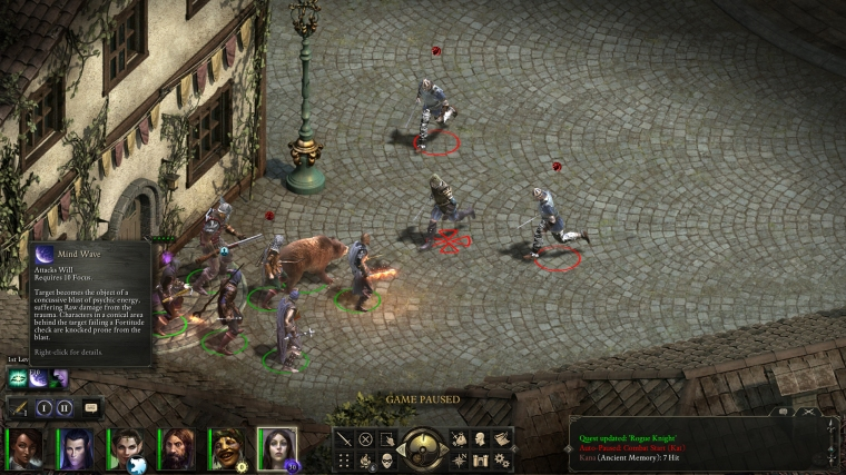 Pillars of Eternity - Combat