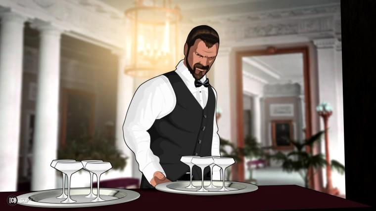 Fear Effect: Sedna - Waiter