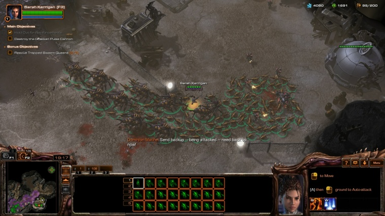 StarCraft II - Kerrigan & Zerg